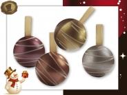 Luxe gedecoreerde  Kerstballen