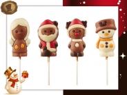 Engel - Kerstman - Eland - Sneeuwpop