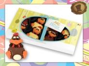 8x Crazy Chickens  in Geschenkverpakking