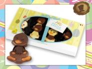 8x Paas Happy Ducks  in Geschenkverpakking