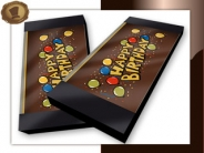 Chocoladekaart / tablet <br/>Happy Birthday