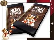 Chocolade Kerstkaart <br/>Merry Christmas