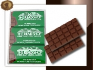 Chocoladereep (mini)  Per 6 (2x3)