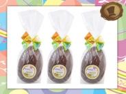 Chocolade Paasei  70 gram - 10 cm