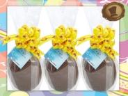 Chocolade Paasei  250 gram - 17 cm