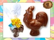 Chocolade Haantje  180 gram