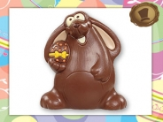 Chocolade Hangoorkonijn <br/> 125 gram