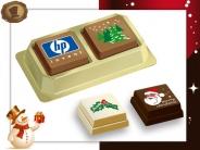 Premium Kerst Pralines <br/>2 stuks