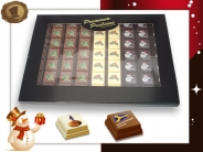 Premium Kerst Pralines <br/>63 stuks