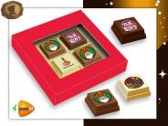 Premium Sint Pralines  4 stuks
