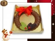 Chocolade Kerstkrans  250 gram
